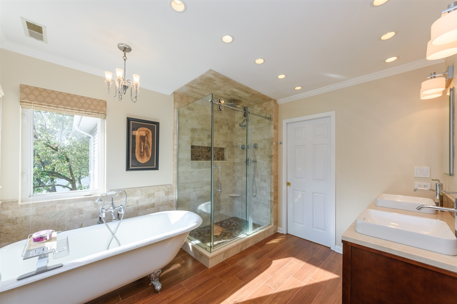 Real Estate Photography - 23858 N Lakeside DR, Lake Zurich, IL, 60047 - Master Bathroom
