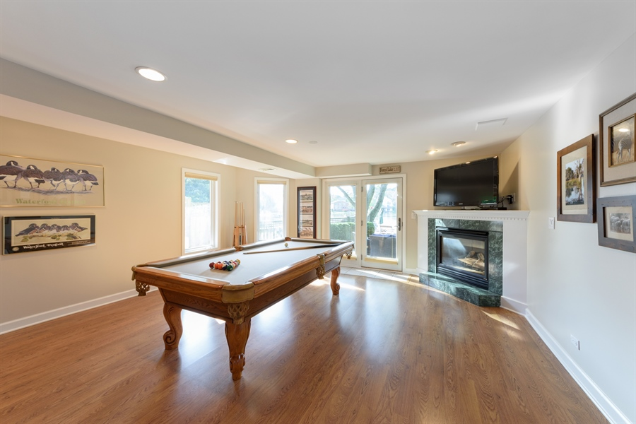 Real Estate Photography - 23858 N Lakeside DR, Lake Zurich, IL, 60047 - Family Room