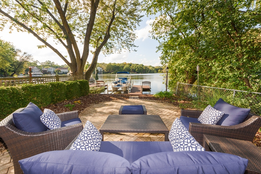 Real Estate Photography - 23858 N Lakeside DR, Lake Zurich, IL, 60047 - Patio