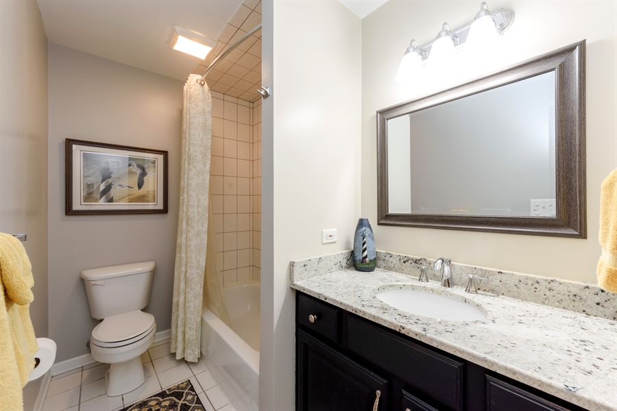 Real Estate Photography - 23858 N Lakeside DR, Lake Zurich, IL, 60047 - 2nd Bathroom