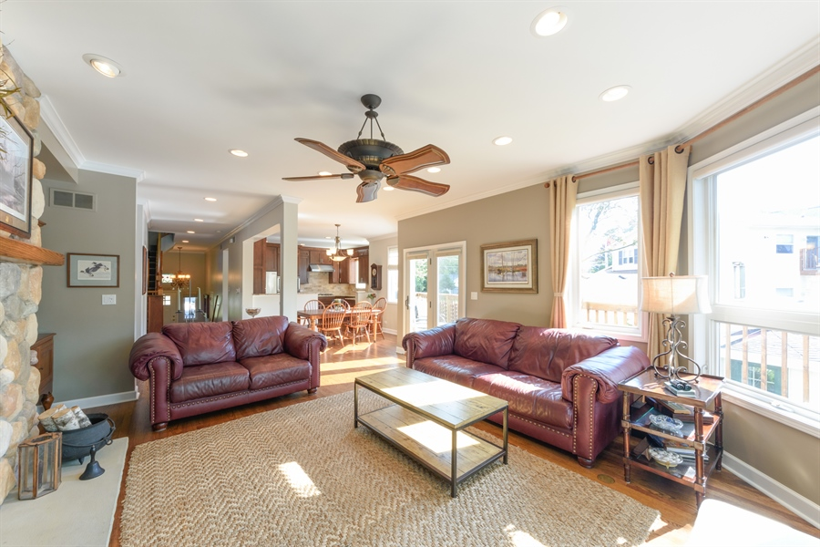 Real Estate Photography - 23858 N Lakeside DR, Lake Zurich, IL, 60047 - Living Room / Dining Room