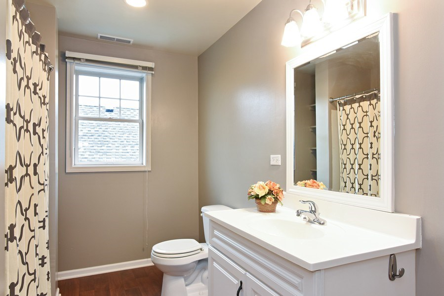 Real Estate Photography - 4915 Sherwin Ave, Skokie, IL, 60077 - 2nd Bathroom