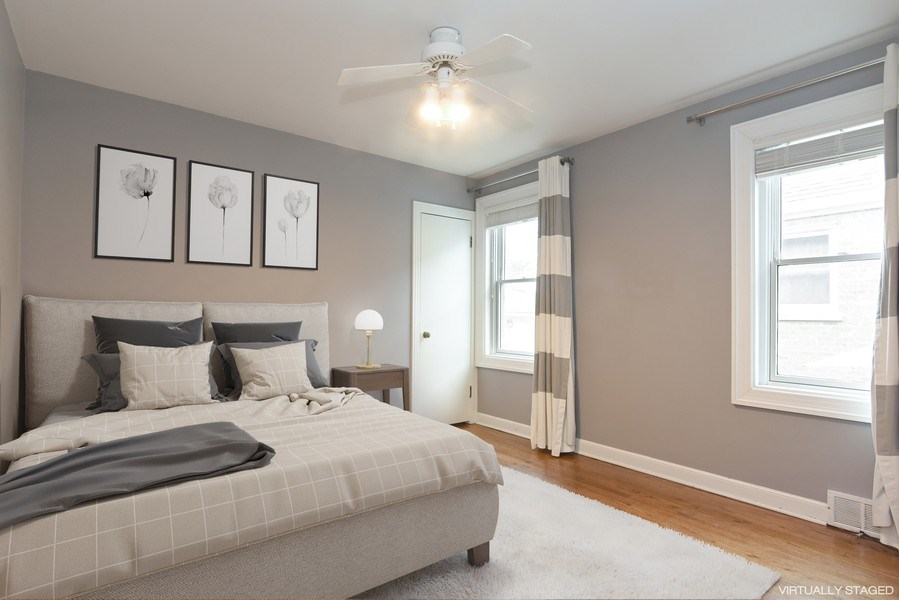 Real Estate Photography - 4915 Sherwin Ave, Skokie, IL, 60077 - 4th Bedroom