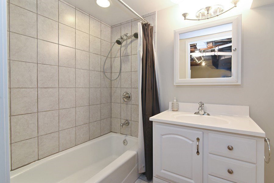 Real Estate Photography - 4915 Sherwin Ave, Skokie, IL, 60077 - 3rd Bathroom