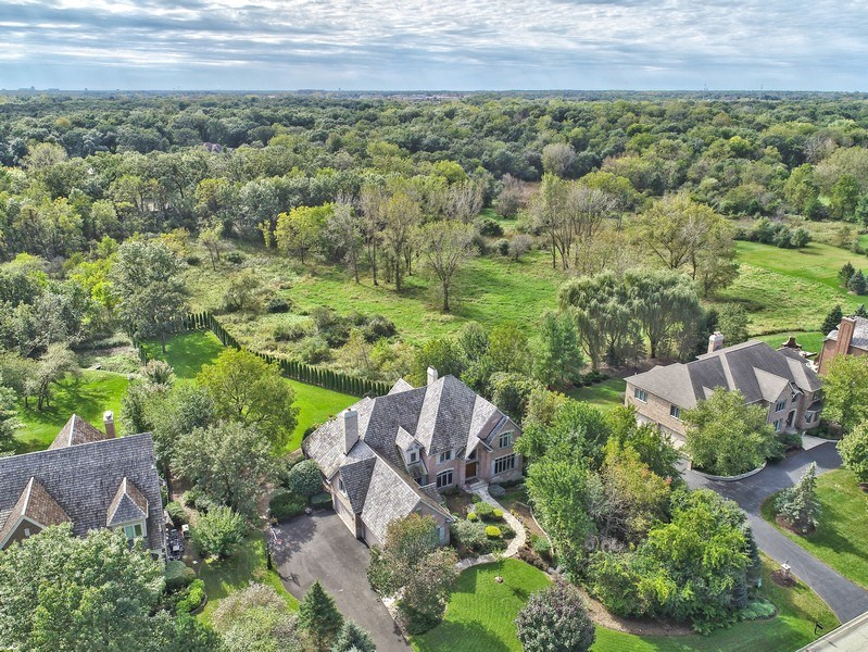 Real Estate Photography - 20817 west high ridge drive, kildeer, IL, 60047 - Aerial View
