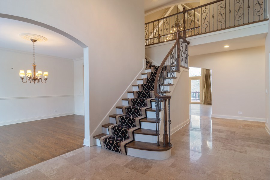 Real Estate Photography - 20817 west high ridge drive, kildeer, IL, 60047 - Foyer