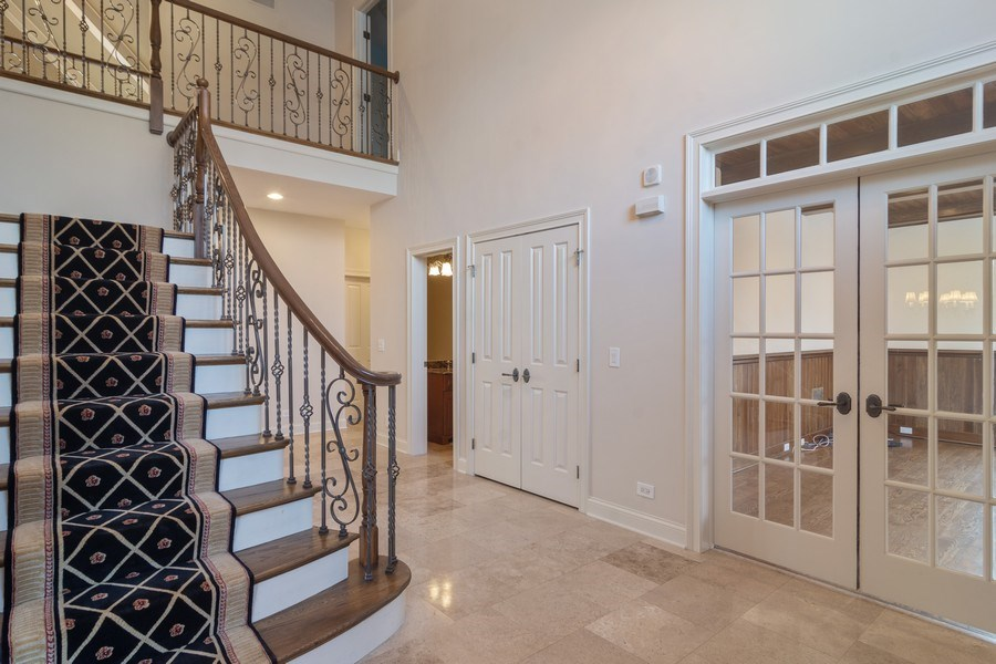 Real Estate Photography - 20817 west high ridge drive, kildeer, IL, 60047 - Entryway