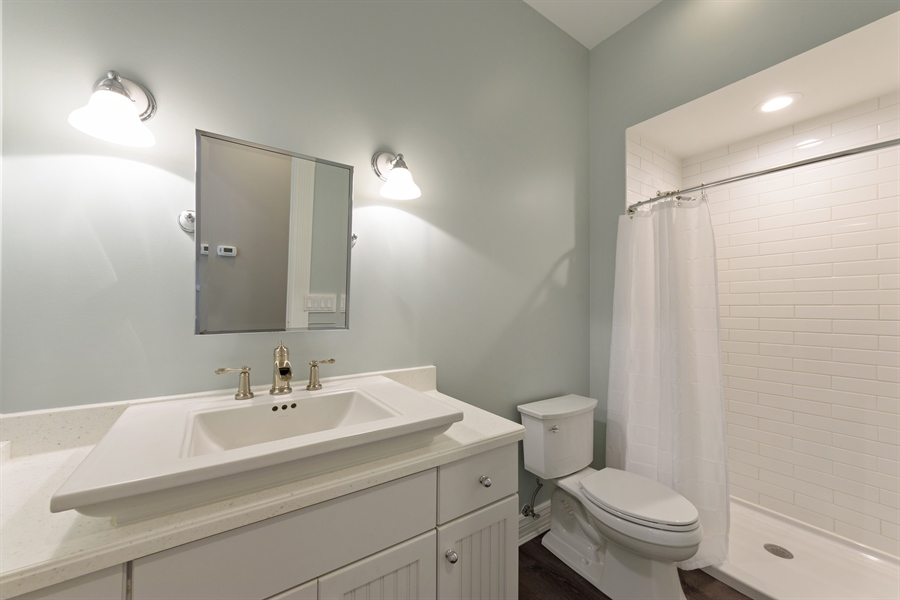 Real Estate Photography - 21227 W Andover Dr, Mundelein, IL, 60060 - 4th Bathroom - Main Level