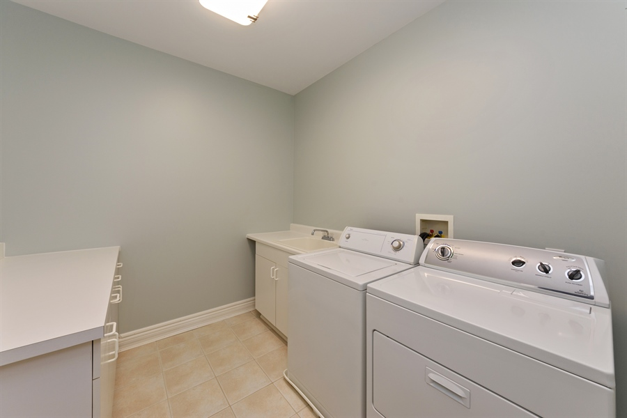 Real Estate Photography - 21227 W Andover Dr, Mundelein, IL, 60060 - Laundry Room - 2nd Level