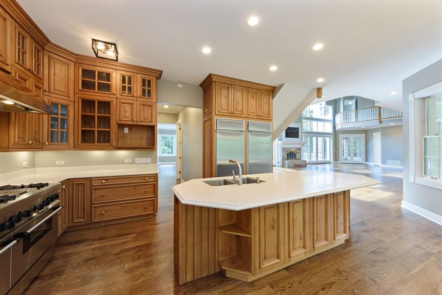 Real Estate Photography - 21227 W Andover Dr, Mundelein, IL, 60060 - Kitchen