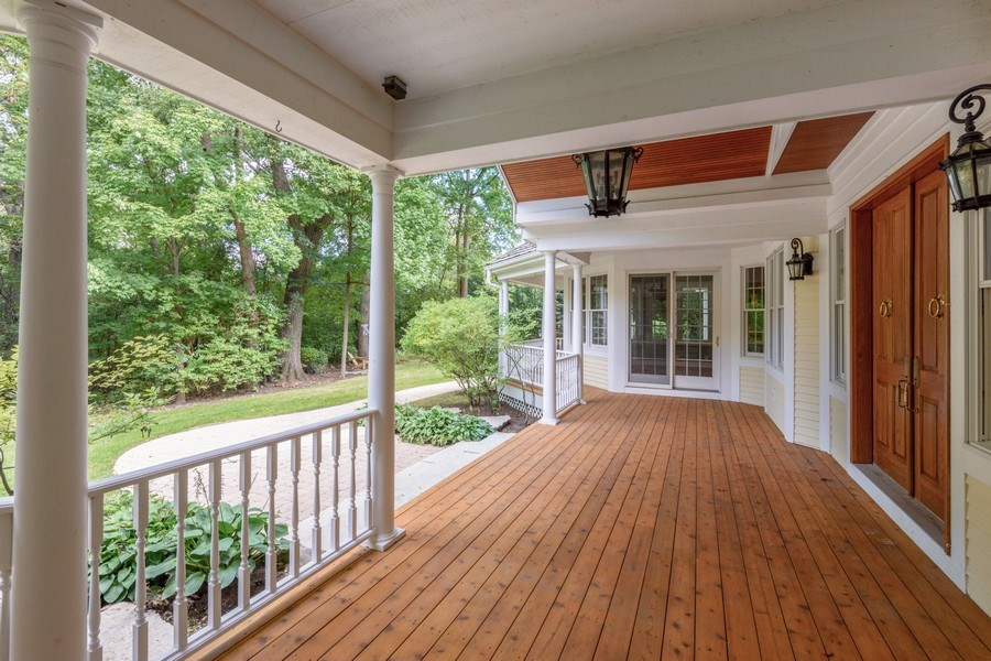 Real Estate Photography - 21227 W Andover Dr, Mundelein, IL, 60060 - Wrap Around Porch