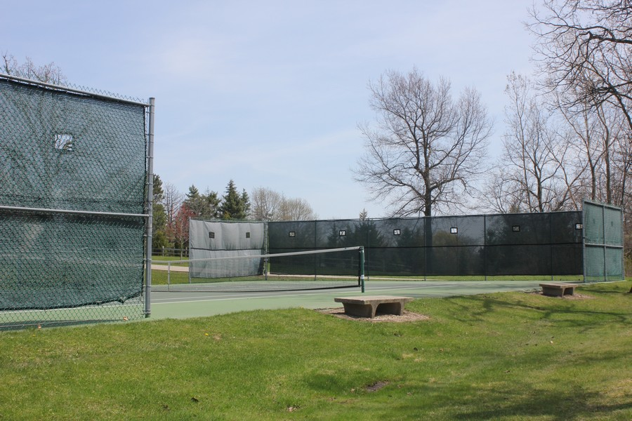 Real Estate Photography - 21227 W Andover Dr, Mundelein, IL, 60060 - Private Tennis Courts