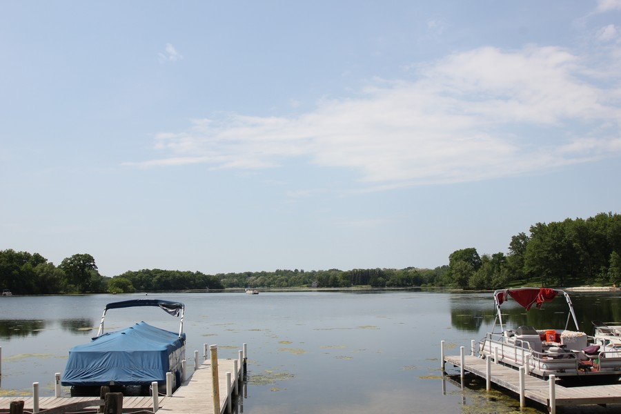 Real Estate Photography - 21227 W Andover Dr, Mundelein, IL, 60060 - Countryside Lake - Boat Launch
