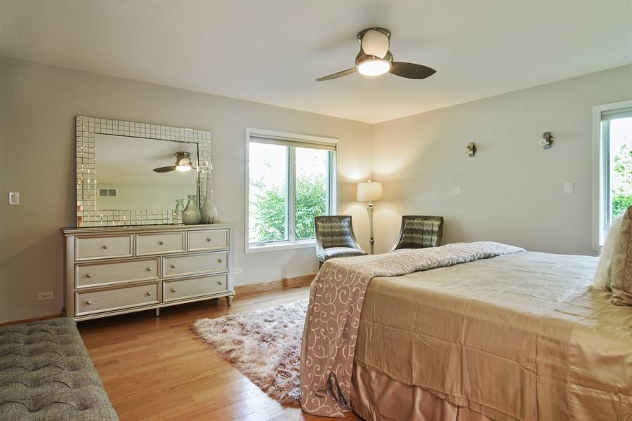 Real Estate Photography - 734 S Belmont Avenue, Arlington Heights, IL, 60005 - Master Bedroom
