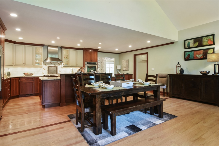 Real Estate Photography - 734 S Belmont Avenue, Arlington Heights, IL, 60005 - Kitchen / Breakfast Room