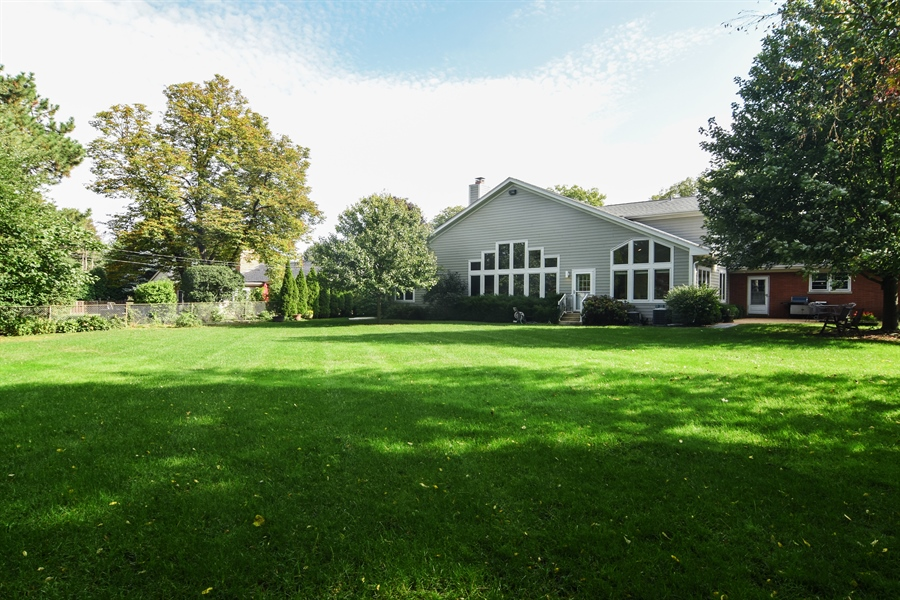 Real Estate Photography - 734 S Belmont Avenue, Arlington Heights, IL, 60005 - Back Yard