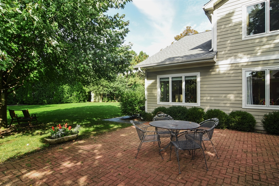 Real Estate Photography - 734 S Belmont Avenue, Arlington Heights, IL, 60005 - Patio