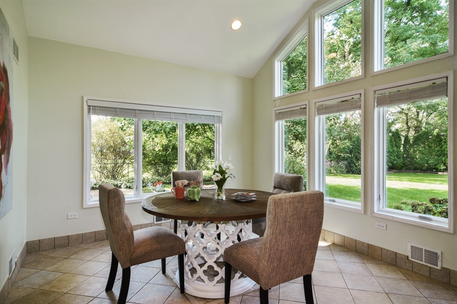 Real Estate Photography - 734 S Belmont Avenue, Arlington Heights, IL, 60005 - Sun Room