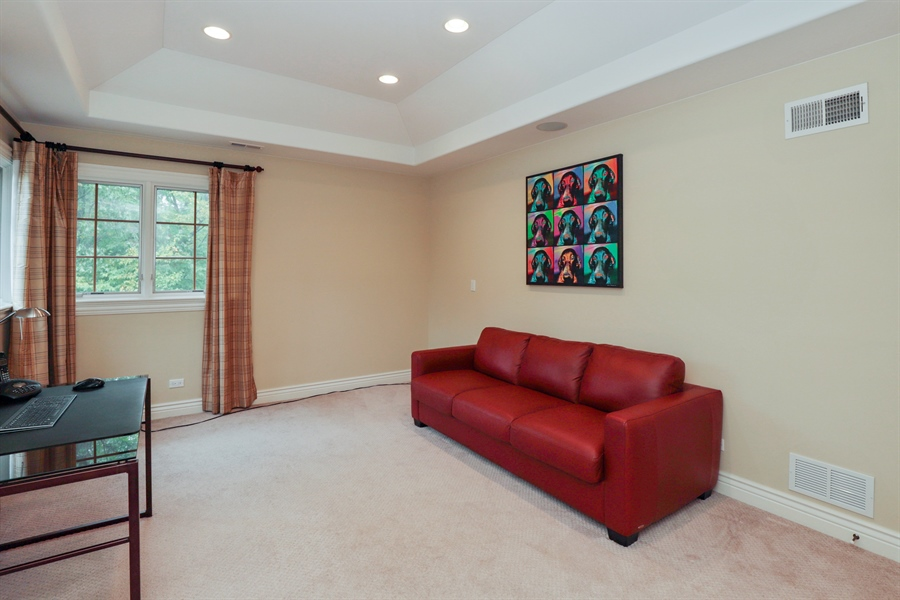 Real Estate Photography - 36 Plymouth, lincolnshire, IL, 60069 - 2nd Bedroom