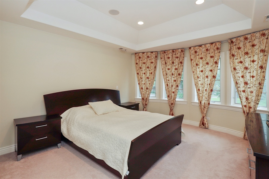 Real Estate Photography - 36 Plymouth, lincolnshire, IL, 60069 - Bedroom