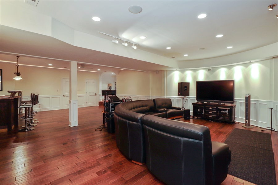 Real Estate Photography - 36 Plymouth, lincolnshire, IL, 60069 - Basement