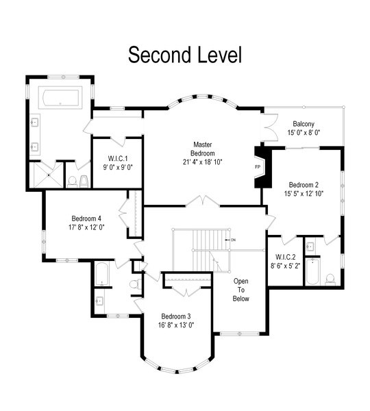 Real Estate Photography - 36 Plymouth, lincolnshire, IL, 60069 - Floor Plan