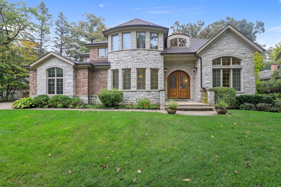 Real Estate Photography - 36 Plymouth, lincolnshire, IL, 60069 - Front View