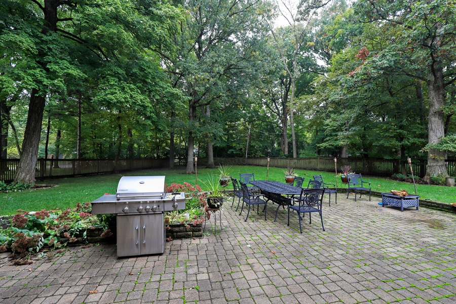 Real Estate Photography - 36 Plymouth, lincolnshire, IL, 60069 - Patio