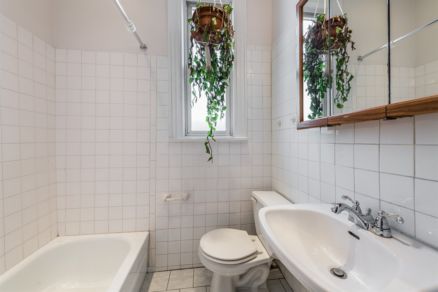 Real Estate Photography - 2239 W Fletcher St, Chicago, IL, 60614 - Bathroom