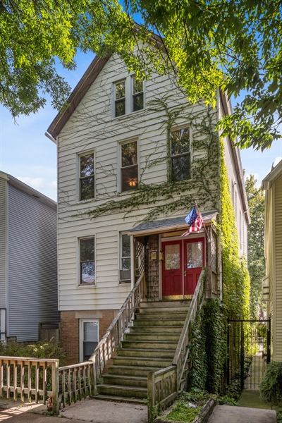 Real Estate Photography - 2239 W Fletcher St, Chicago, IL, 60614 - Front View