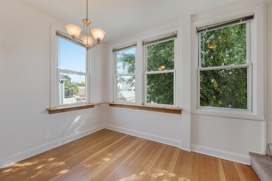 Real Estate Photography - 2239 W Fletcher St, Chicago, IL, 60614 - Dining Room