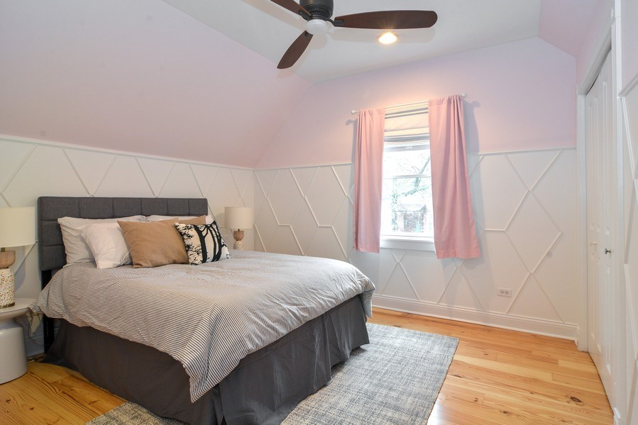 Real Estate Photography - 2538 W Medill Ave, Chicago, IL, 60647 - 2nd Bedroom