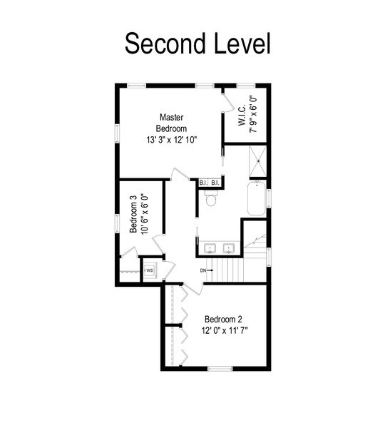Real Estate Photography - 2538 W Medill Ave, Chicago, IL, 60647 - Floor Plan