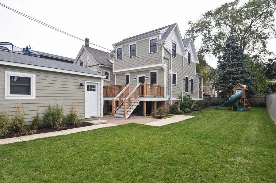 Real Estate Photography - 2538 W Medill Ave, Chicago, IL, 60647 - Rear View