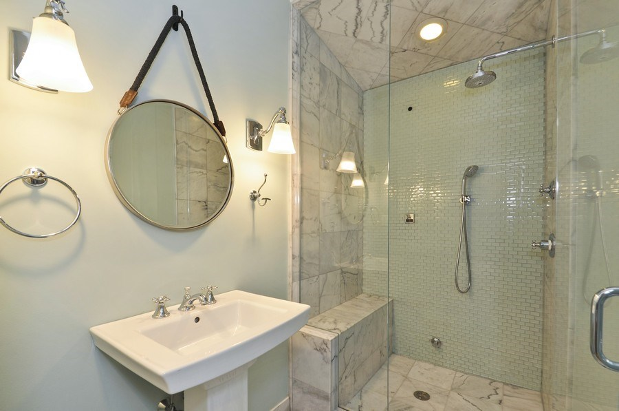 Real Estate Photography - 2538 W Medill Ave, Chicago, IL, 60647 - Bathroom