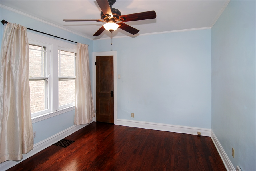 Real Estate Photography - 3620 Wesley Ave, Berwyn, IL, 60402 - Master Bedroom