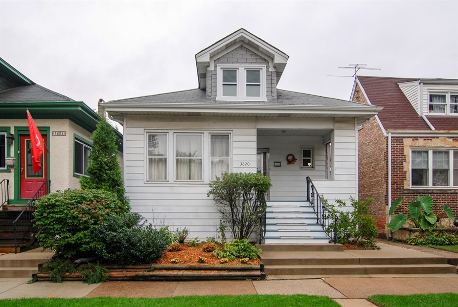 Real Estate Photography - 3620 Wesley Ave, Berwyn, IL, 60402 - Front View