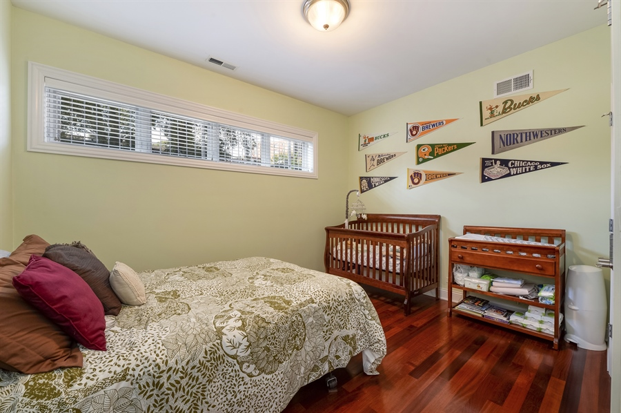 Real Estate Photography - 744 W Belmont Ave, Unit 1F, Chicago, IL, 60657 - 2nd Bedroom