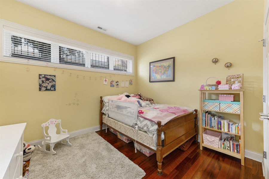Real Estate Photography - 744 W Belmont Ave, Unit 1F, Chicago, IL, 60657 - 3rd Bedroom