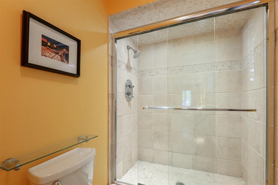 Real Estate Photography - 118 Lockerbie Ln, Wilmette, IL, 60091 - Master Bathroom