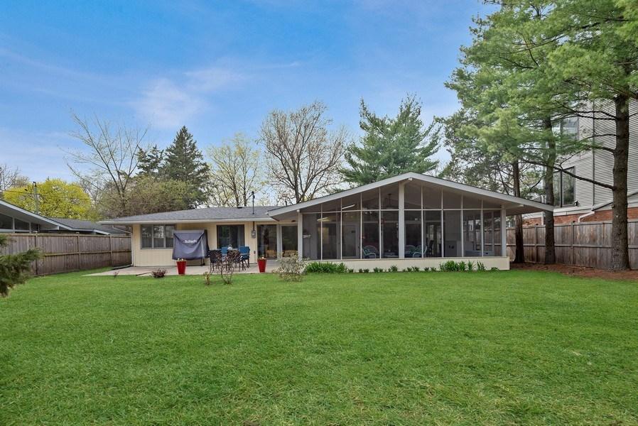Real Estate Photography - 118 Lockerbie Ln, Wilmette, IL, 60091 - Back Yard