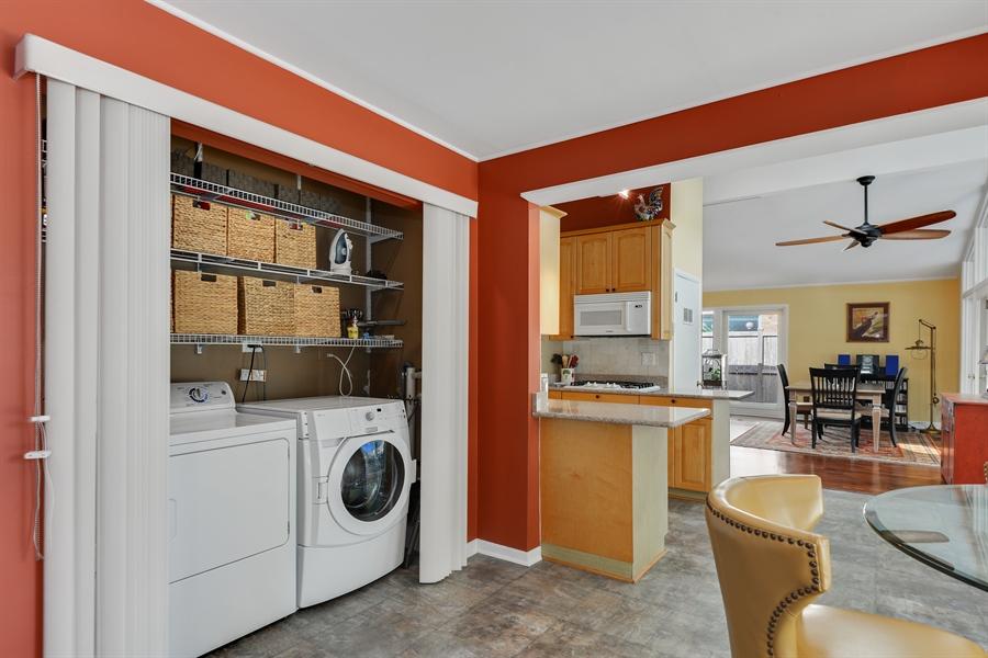 Real Estate Photography - 118 Lockerbie Ln, Wilmette, IL, 60091 - Laundry Alcove