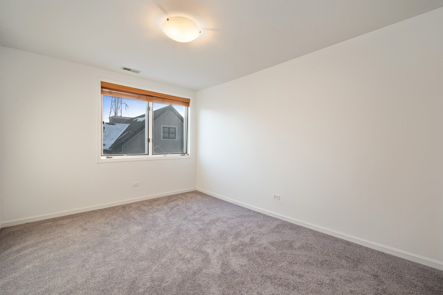 Real Estate Photography - 1373 Hubbard, Unit 4E, Chicago, IL, 60642 - 2nd Bedroom