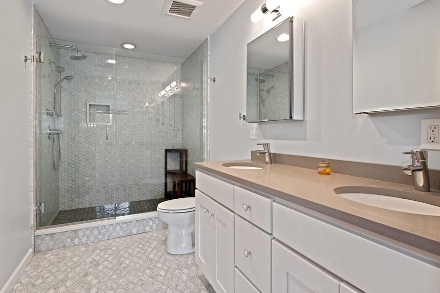 Real Estate Photography - 1373 Hubbard, Unit 4E, Chicago, IL, 60642 - Master Bathroom