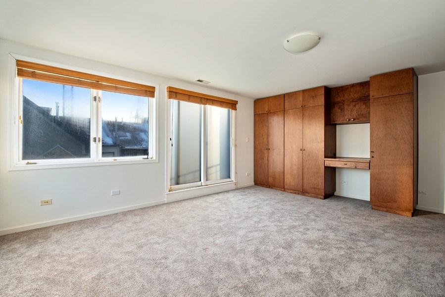 Real Estate Photography - 1373 Hubbard, Unit 4E, Chicago, IL, 60642 - Master Bedroom