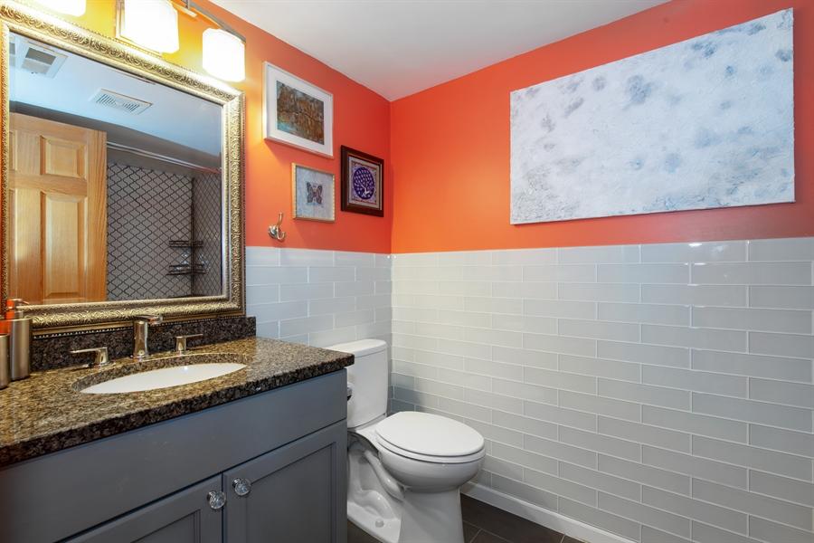 Real Estate Photography - 1373 Hubbard, Unit 4E, Chicago, IL, 60642 - 2nd Bathroom