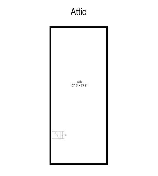Real Estate Photography - 4050 Bunker Ln, Wilmette, IL, 60091 - Floor Plan