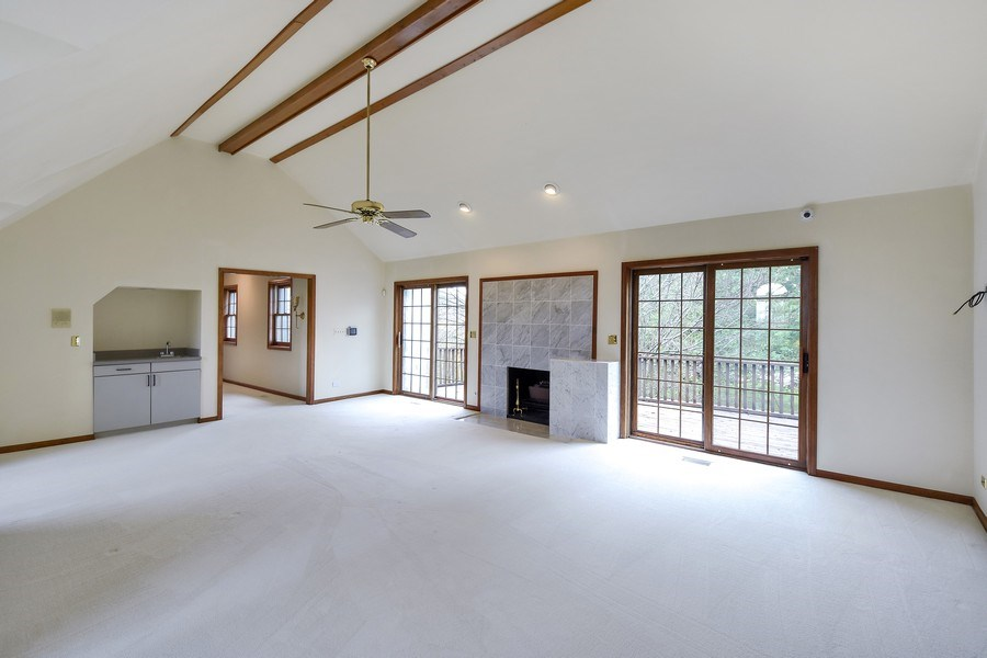 Real Estate Photography - 1 Brookhaven Cir, South Barrington, IL, 60010 - Master Bedroom