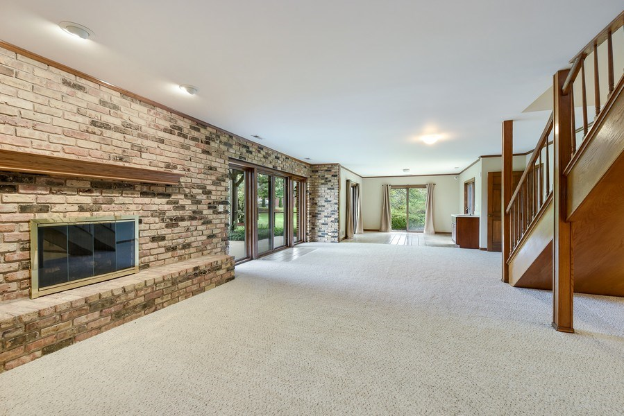 Real Estate Photography - 1 Brookhaven Cir, South Barrington, IL, 60010 - Basement