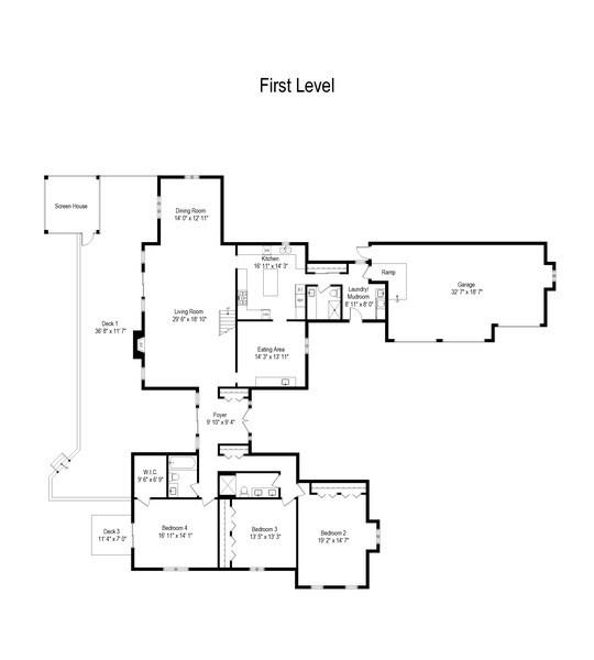 Real Estate Photography - 1 Brookhaven Cir, South Barrington, IL, 60010 - Floor Plan